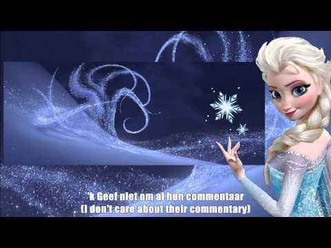 """Frozen - """"Let It Go"""" (Flemish) S+T"""