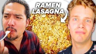 Easy Ramen Lasagna For When You're Broke AF