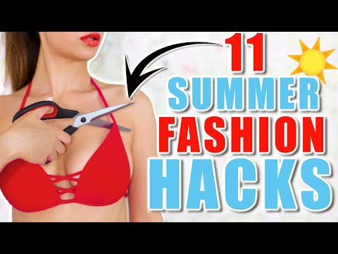 11 MÄDCHEN FASHION LIFE HACKS 👙 DIYS, BIKINI , OUTFITS | KINDOFROSY