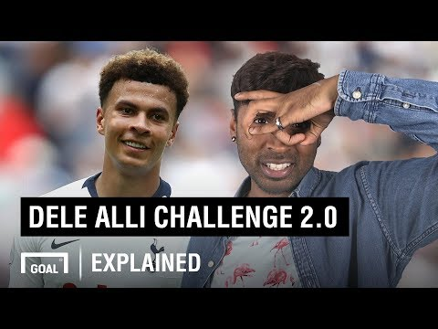 How to do the Dele Alli Challenge 2.0