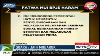 MUI BPJS Tidak Haram Namun Tak Sesuai Syariat Islam