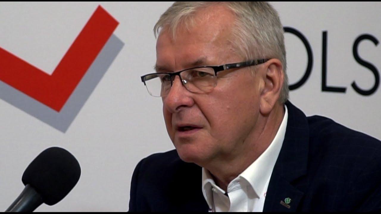 Wywiad TV z Przewodniczącym Konwentu Powiatów Woj. Wielkopolskiego Lechem Janickim na temat szpitali