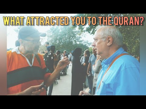 Speakers Corner | Paul Williams Answers: What Attracted You To The Quran?