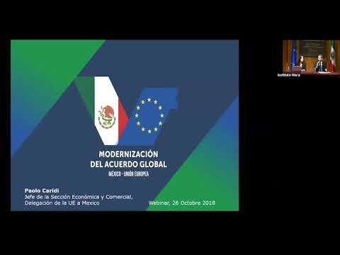 Conectando Europa Modenización Tratado de Libre Comrcio Unión Europea TLCUE