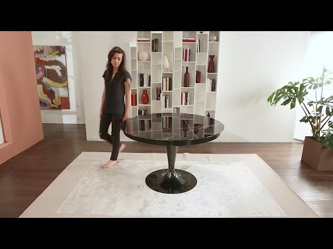 ECLIPSE - Extendable table by Ozzio Italia - Tavolo allungabile rotondo thumbnail