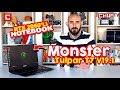 Monster Tulpar T7 V191 nceleme RTX Ekran Kartl Oyuncu Notebook