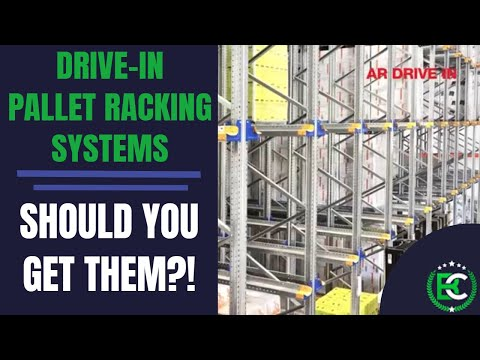 Drive in Pallet Racking | 🚚 Pallet Racking Suppliers 🚚 | Drive Through Pallet Racking FIFO