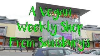 A VEGAN WEEKLY SHOP FROM SAINSBURY'S