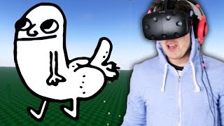 HOW TO DRAW D*CKS IN VIRTUAL REALITY (SculptrVR)