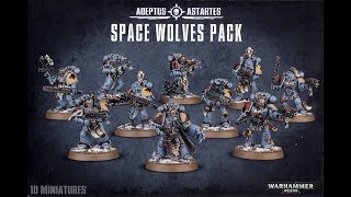 Games Workshop Warhammer 40,000 Space Wolves Upgrade Pack 99070101012