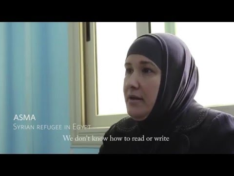 UNFPA empowers female Syrian refugee in Egypt