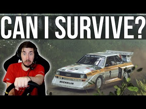 Can I Survive One Of The Fastest Stages In Dirt Rally 2.0?