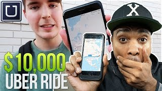 $10,000 UBER RIDE (WORLD RECORD)