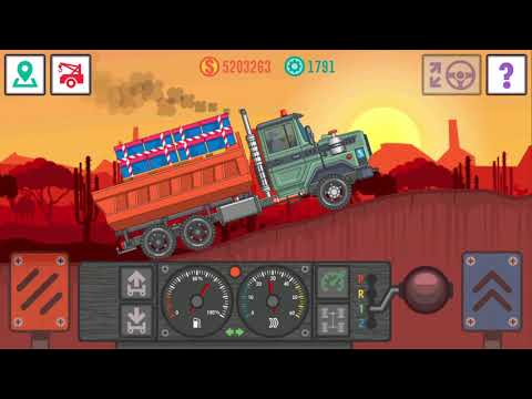 BEST TRUCKER LITE GAME TRANSPORTING TOYS TO THE SEAPORT