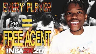 i made every nba player a free agent and here's what happend...