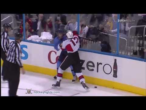 Chris Thorburn vs. Zack Smith