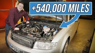 What Does Half A Million Miles Do To A Car?