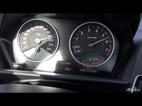 BMW M235i M Performance: Beschleunigung 0 - 250 km/h (8-Gang-Automatik)