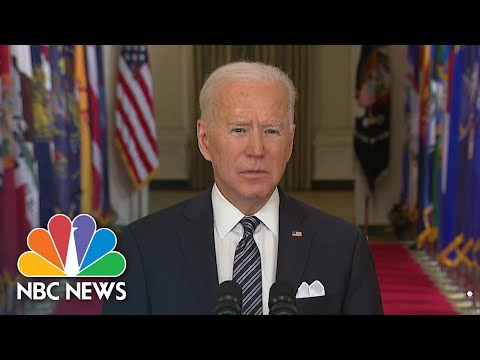 Watch President Biden's Full Remarks On Anniversary Of Covid Pandemic | NBC News