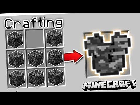 CRAFT ANY BLOCK INTO ARMOR | Minecraft Mods