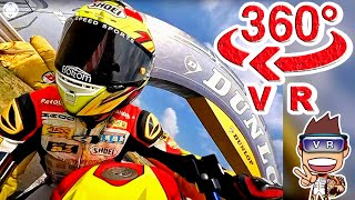 【大迫力!360度 VR体験】時速150kmオーバー・筑波サーキット -Circuit Motorcycle race Ride in 360° Virtual Reality Experience!