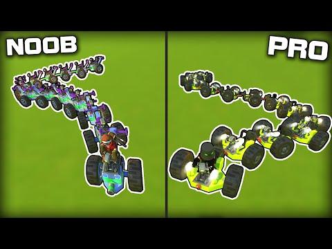 NOOB vs PRO Snake Challenge! (Scrap Mechanic Gameplay)