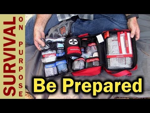 Surviveware Large First Aid Kit – Perfect For Boy Scouts and Families