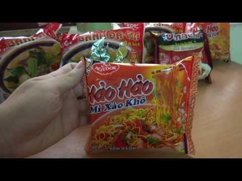 Noodle S - Mở hộp Mì xào Hảo Hảo chính hãng VinaAcecook