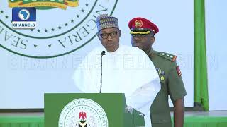 'The Solution To Our Problem Lies With Us,' Buhari Tells Ministers-Designate