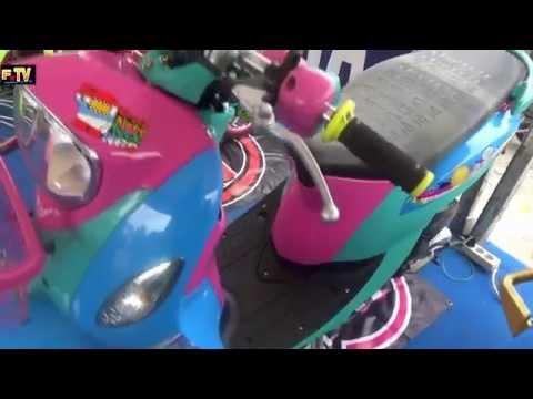 Video Modifikasi Yamaha Fino keren