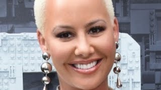 Amber Rose Debuts Huge Face Tattoo Dedicated To Sons
