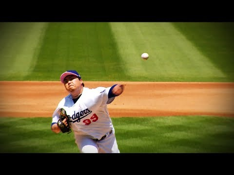 Hyun-jin Ryu has been named the May NL Pitcher of the Month