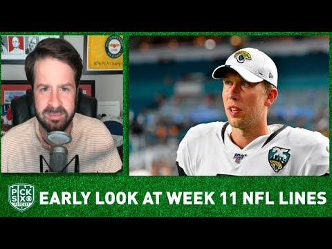 NFL Week 11 Picks, Early Look at Lines, Betting Advice I Pick Six Podcast