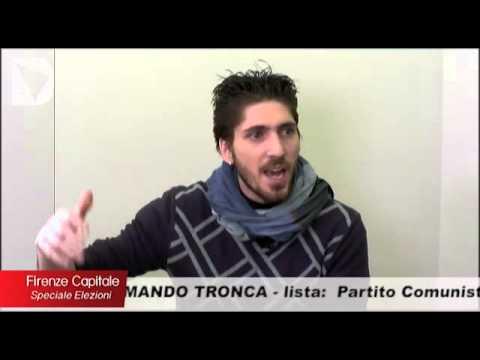 Il candidato a sindaco di Firenze Attilio Armando Tronca ospite di Firenze Capitale, speciale elezioni, condotta da Elisabetta Matini.