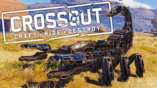 When Giant Mechanical Scorpions Really Sting in Crossout
