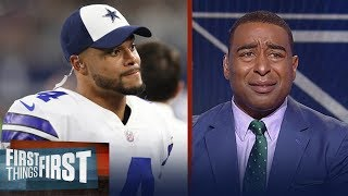 Cris on Dak Prescott: 'If you think Dak would be great anywhere, you're crazy' | FIRST THINGS FIRST