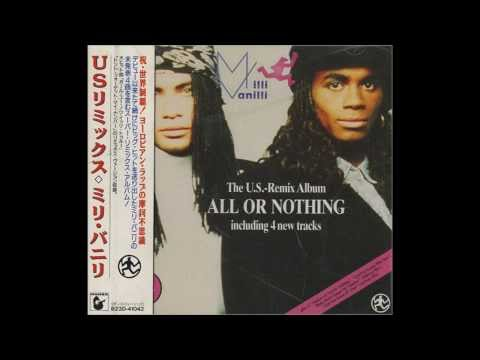 Milli Vanilli -   Blame It On The Rain  (Long Club Version) 1989