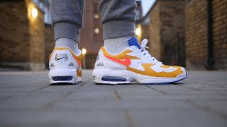 huge discount 95e0a 517db Nike Air Max2 Light Quick Look   On Feet (University Gold)