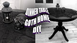 Buying And Painting Vintage Furniture | Goth Decor DIY