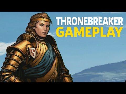 Gameplay de Thronebreaker The Witcher Tales