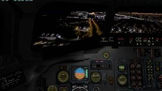 VATSIM Argentina Fly Inn: Landing Buenos Aires Aeroparque SABE Rotate MD80