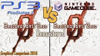 Resident Evil Zero Remastered Comparacion Grafica PS3 vs GameCube 2016