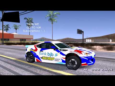 Subaru BR2Z HGMP Racing Team Grand Theft Auto San Andreas Mod