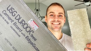 How To Cut and Install Cement Board