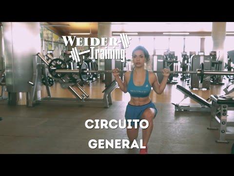 Circuito general con barra con Lara Barretto | Weider Training
