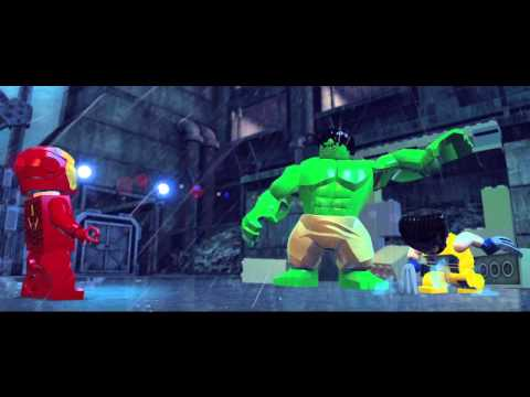 GamesCom trailer de LEGO Marvel Super Heroes