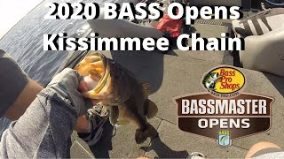 2020 BASS Open: Kissimmee Chain (Road To The Elites) Bass Fishing in Hydrilla