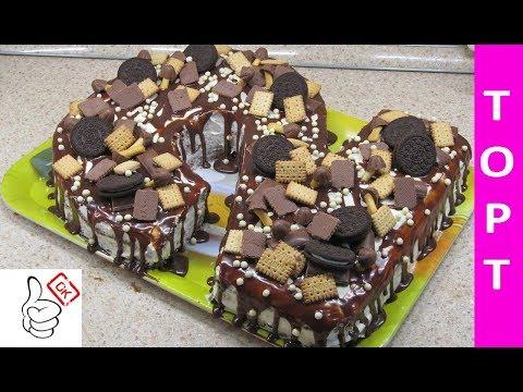 Рецепт торта цифры два для мальчика и девочки