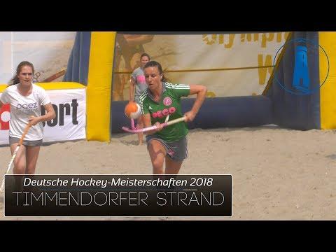 ⚪️ Sport: Deutsche Beach-Hockey Meisterschaft 2018 - Timmendorfer Strand  - Strand, Meer, Ostsee