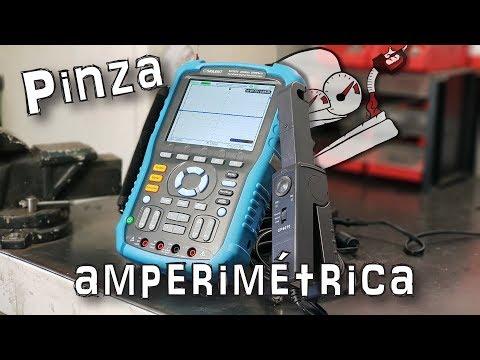 ⚡¿Qué es una PINZA AMPERIMÉTRICA? ¿Cómo medir CORRIENTE ELÉCTRICA? Siglent CP4070